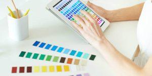 como escolher a cor de uma marca